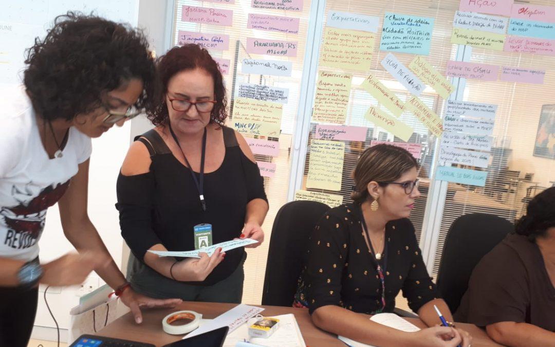 MNCP se reúne na em Brasília para fazer planejamento estratégico e participar de oficina de comunicação