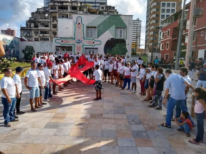 """A nova campanha """"Vencendo o Preconceito e Ampliando a Assistência"""" para o Dezembro Vermelho 2019 é lançada em Fortaleza"""