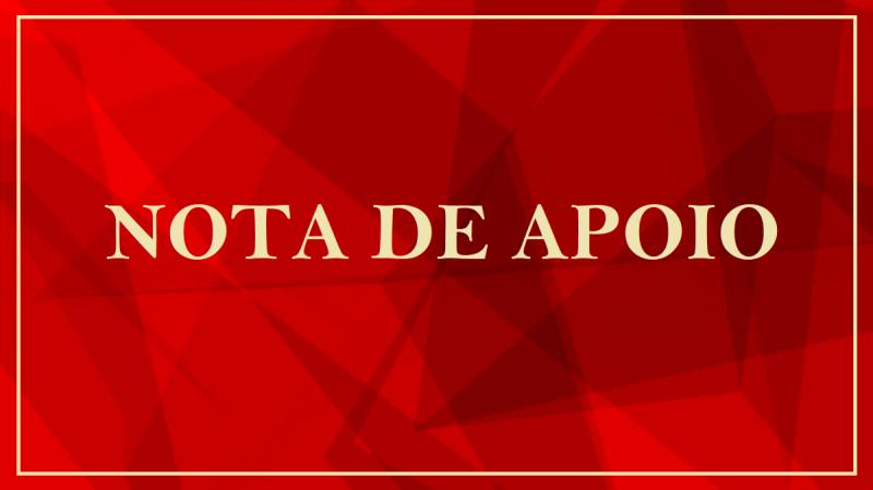Nota de Apoio aos médicos, profissionais de saúde e demais funcionários do Instituto de Infectologia Emílio Ribas