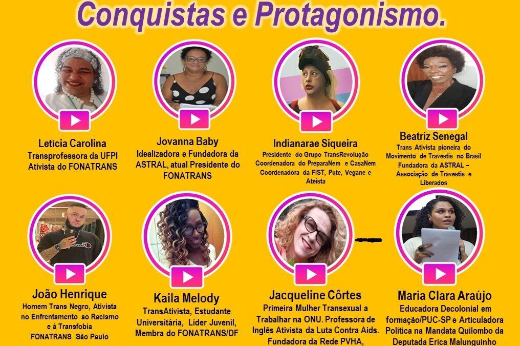 LIVE TRAVIARCADO de Resistência, Lutas, Conquistas e Protagonismo