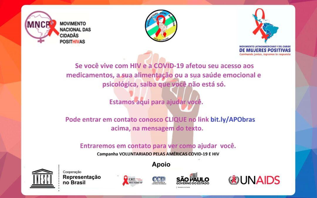 Oi, você é uma pessoa HIV+? Precisa de ajuda?