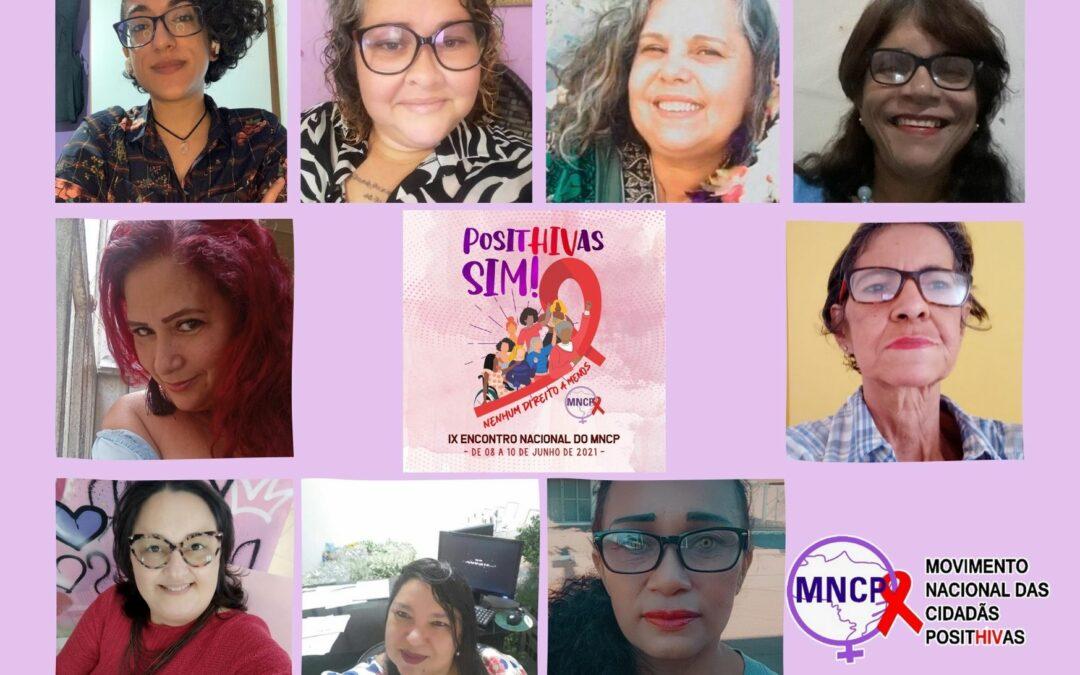 IX Encontro Nacional do MNCP: PositHIVas Sim! Nenhum direito a menos
